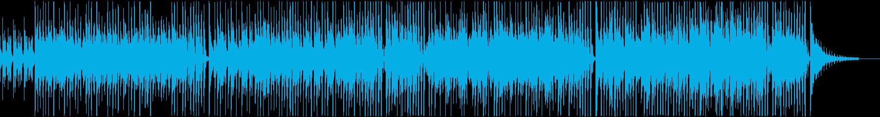 シンプルで使いやすいアレンジのジングルベの再生済みの波形