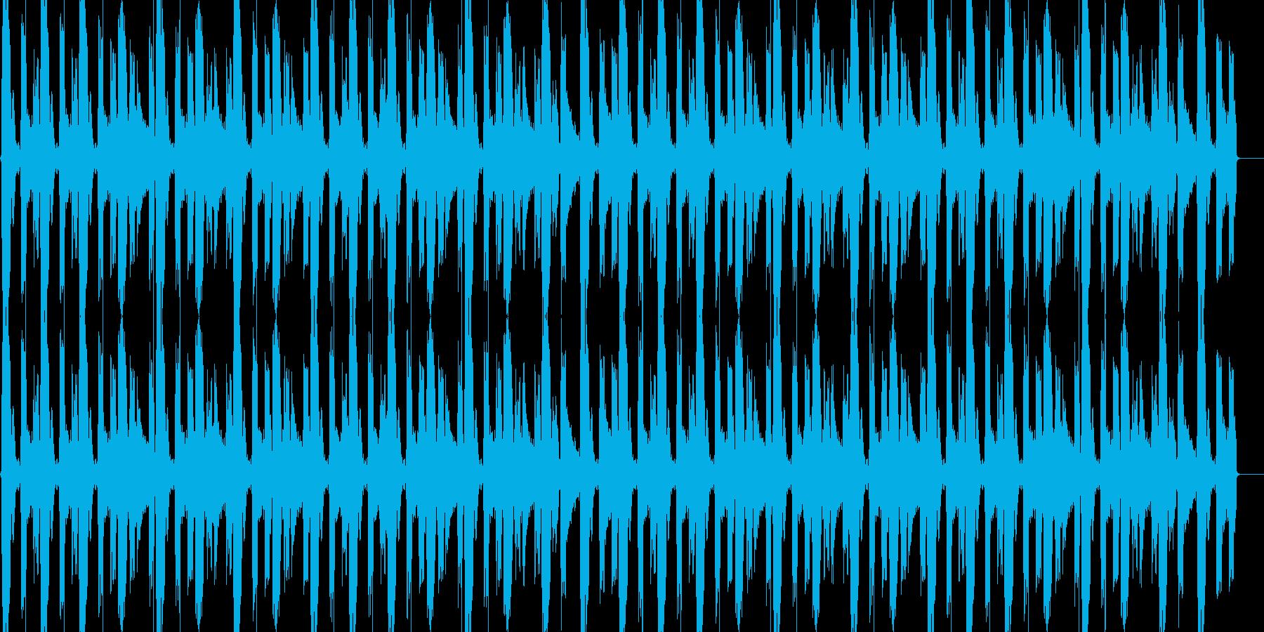 LOOP用ドラムの再生済みの波形