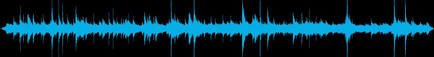 ユース高校アイスホッケー:ウォーミ...の再生済みの波形