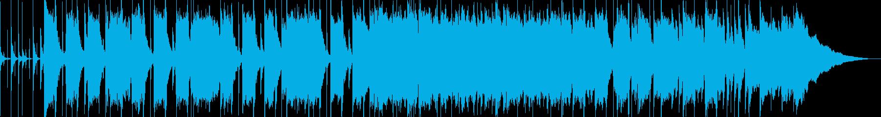 ゆったりブルージンポップスの再生済みの波形