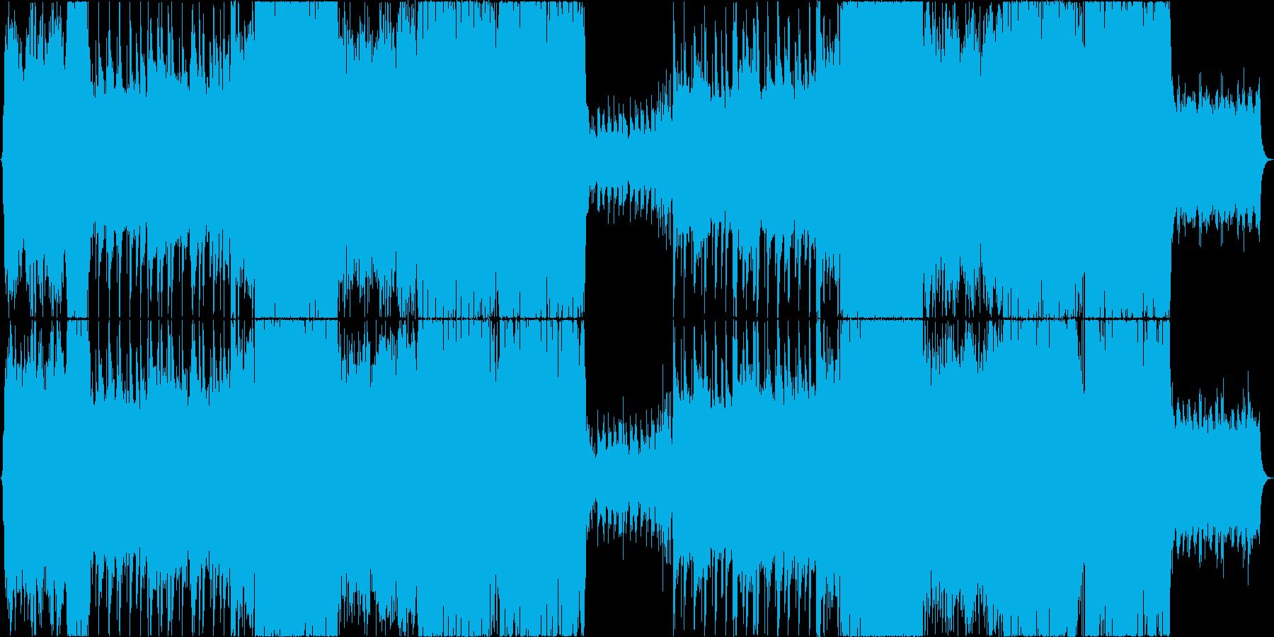 独特な世界観を持ったダンスポップの再生済みの波形
