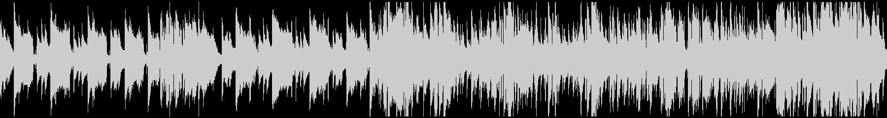 スパイ潜入ジャズハードボイルド※ループ版の未再生の波形