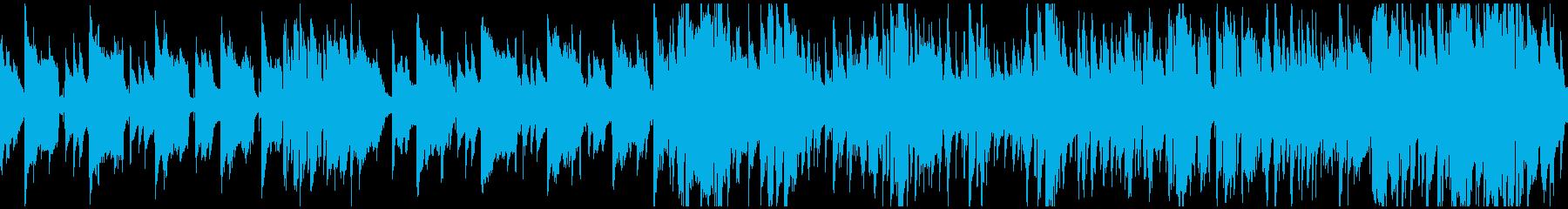 スパイ潜入ジャズハードボイルド※ループ版の再生済みの波形