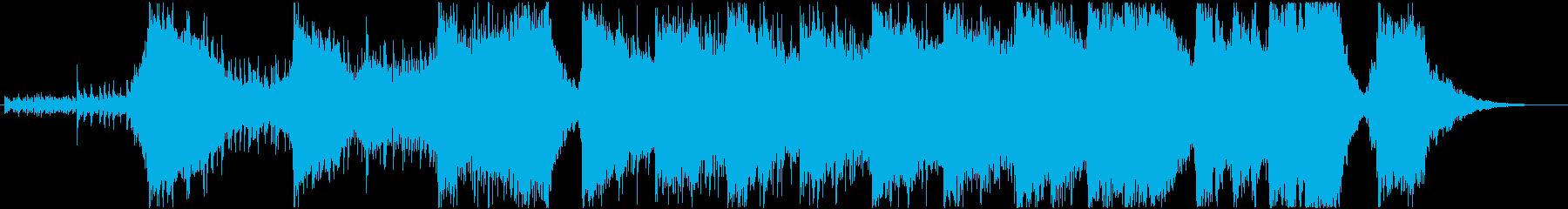 アクションハイブリッドトレイラー3の再生済みの波形