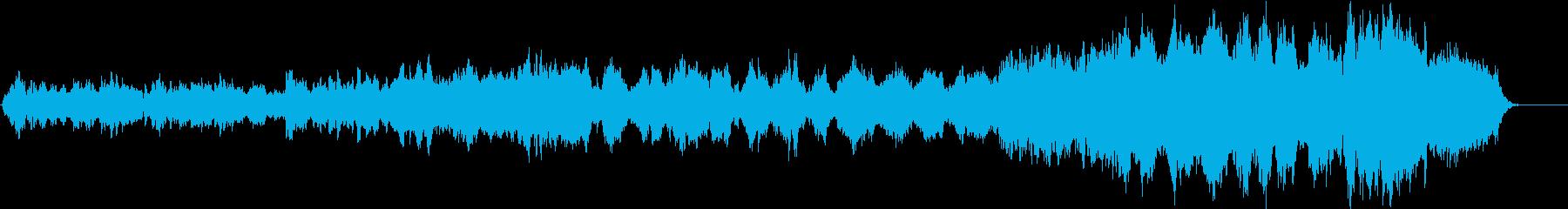 旋律が有名なリアルなオーケストラサウンドの再生済みの波形