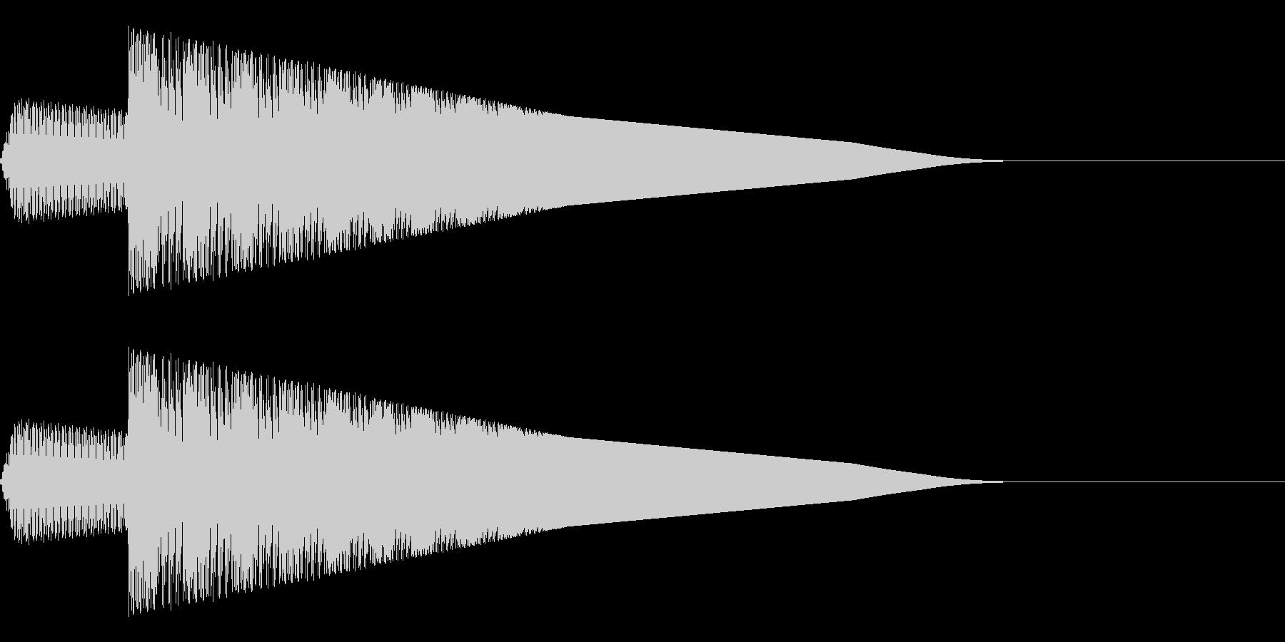 ピョイ(ジャンプ/アクション/ファミコンの未再生の波形