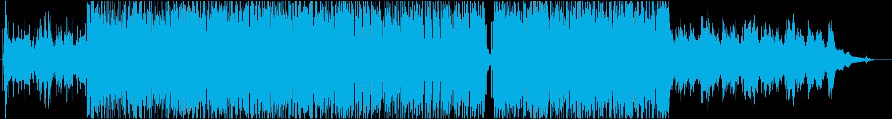 始まりを予感させる軽快なポストロックの再生済みの波形