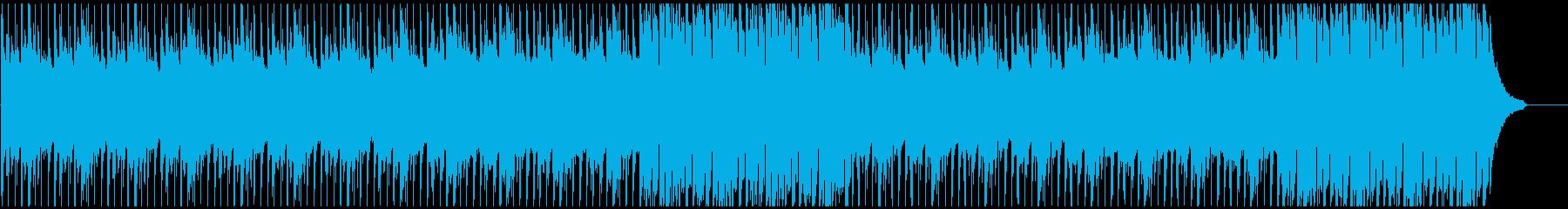 企業VP・旅行 わくわく ピアノメインの再生済みの波形