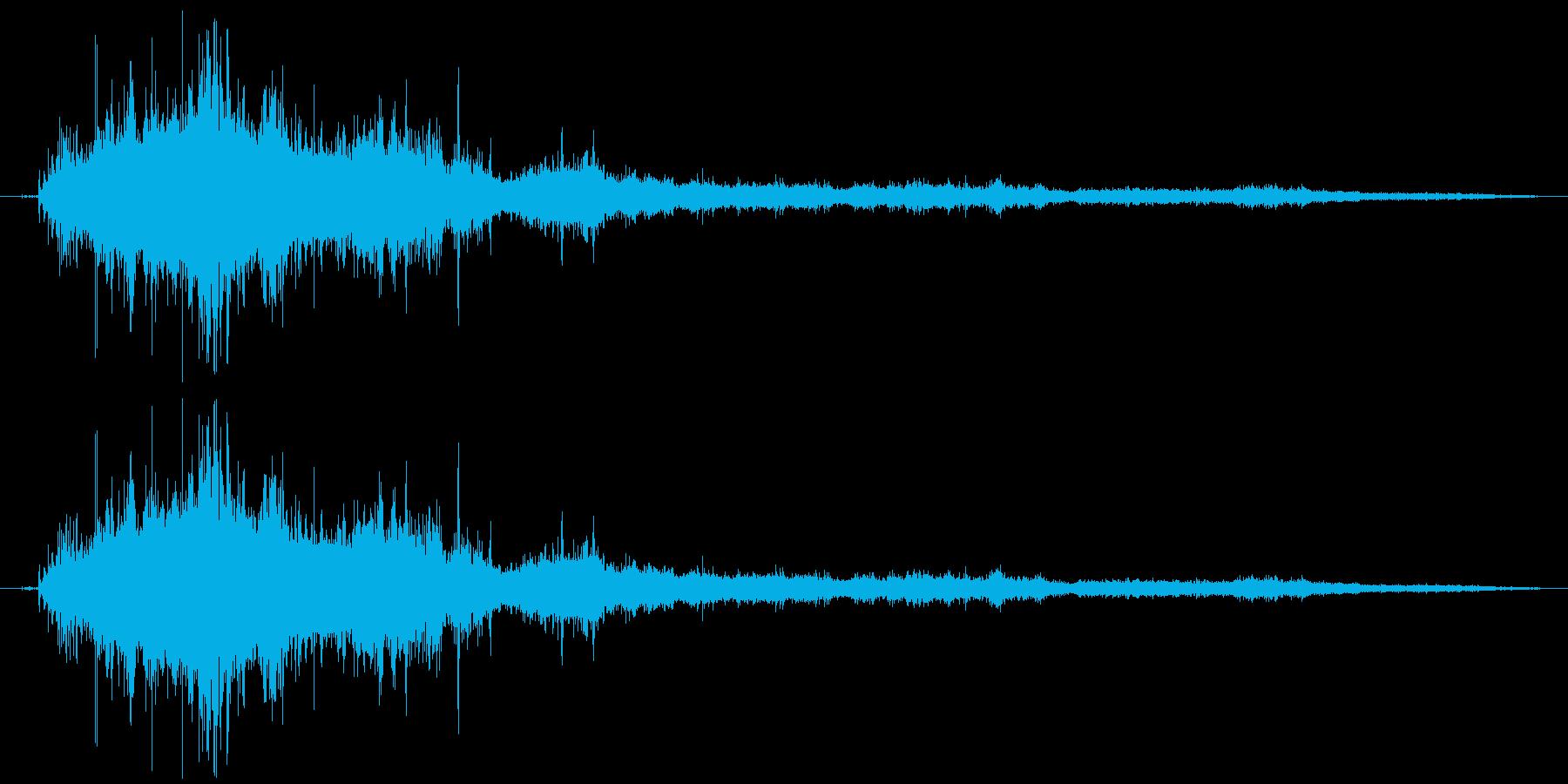 プラスチック製トボガン:ウォークア...の再生済みの波形