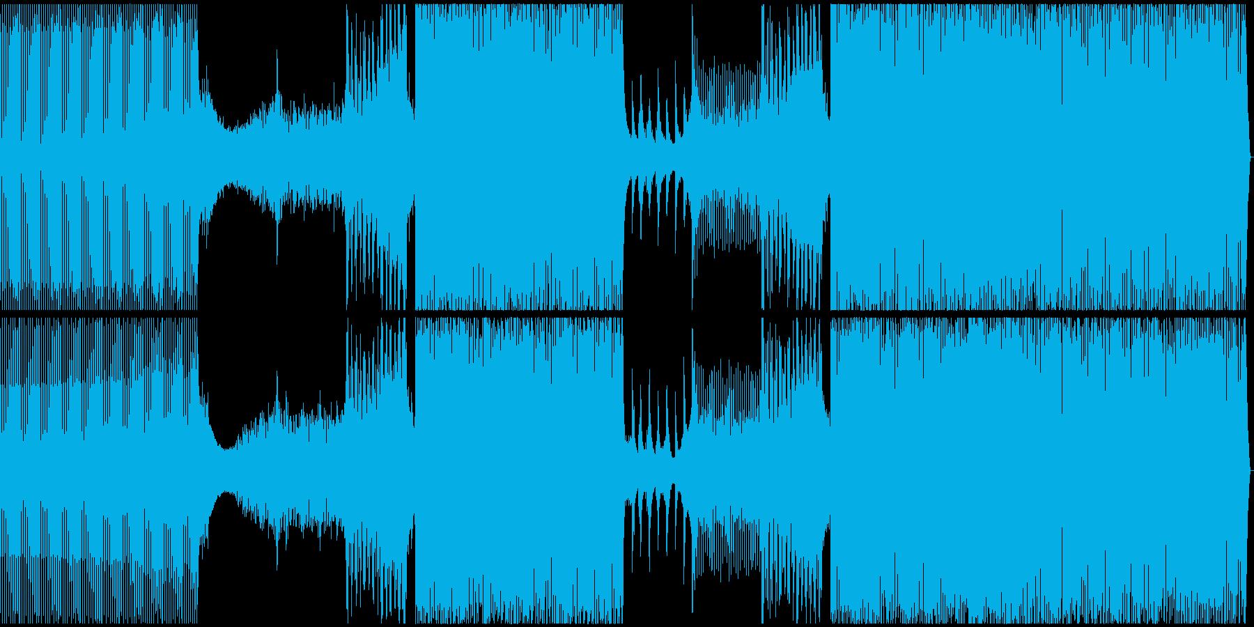 ディープ・ハウス。ダークでキャッチ...の再生済みの波形