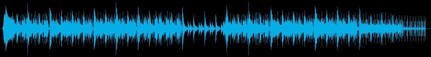 やる気を起こさせるヒップホップ音楽の再生済みの波形