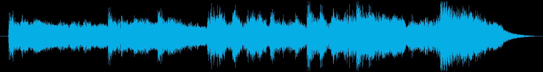古の都、悠久の歴史 PV・CMに。16秒の再生済みの波形