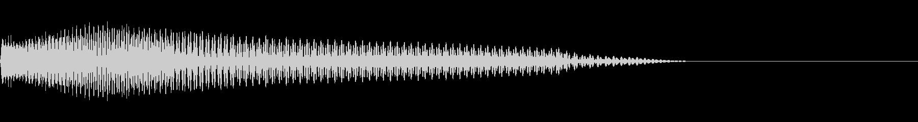 ベース/ドゥーン/ネックスライド/A10の未再生の波形