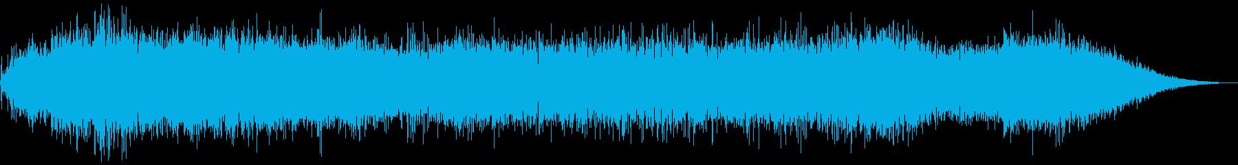 【ダークアンビエント】ホラースケイプ04の再生済みの波形