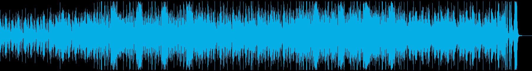 怪しく哀愁のある情熱的なラテンサルサの再生済みの波形