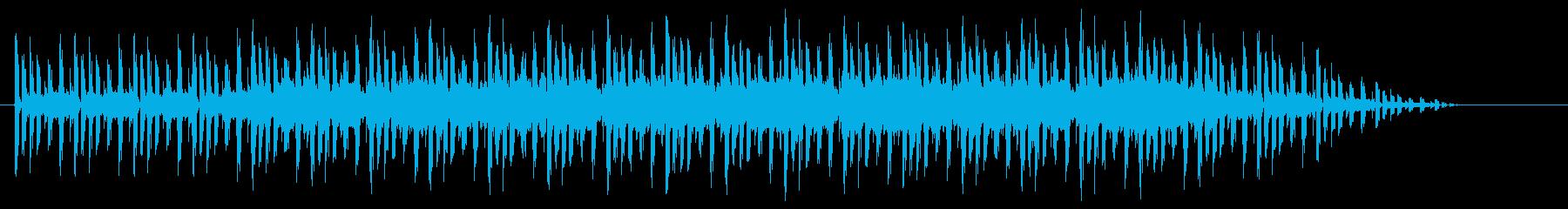 ファンキーなギター生演奏とシンセの再生済みの波形