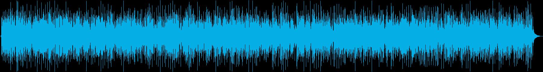 旅のセンチメンタルな気分のカントリー曲の再生済みの波形
