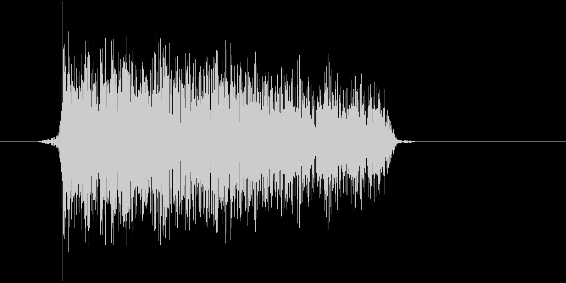 ゲーム(ファミコン風)爆発音_049の未再生の波形