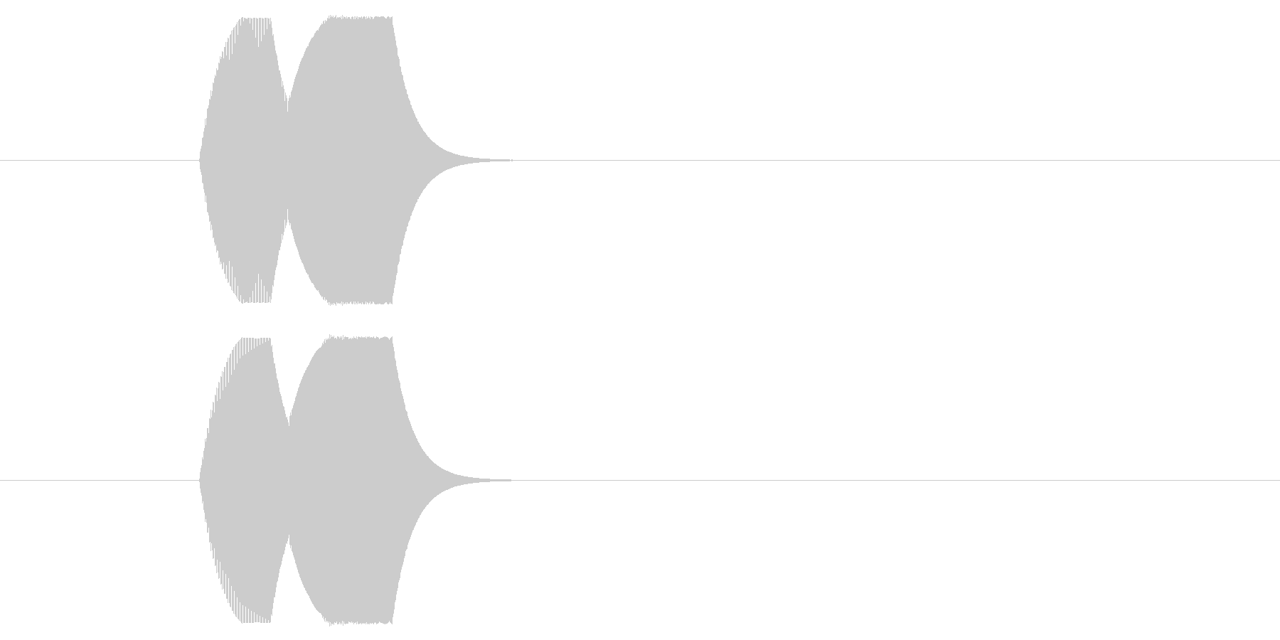 ピコン①(RPG・バトル・カーソル選択)の未再生の波形