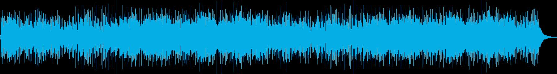 ピアノのロマンチックな背景の歌の再生済みの波形