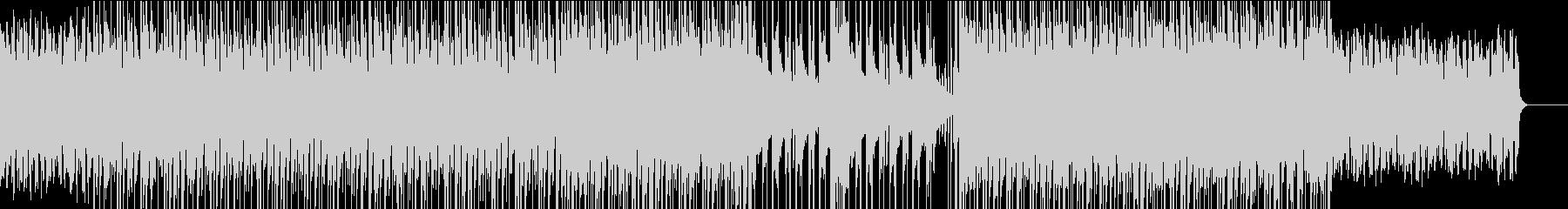 ハウス✖︎グレゴリオ聖歌風なBGMの未再生の波形