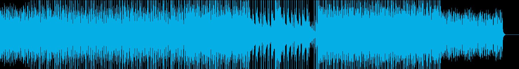 ハウス✖︎グレゴリオ聖歌風なBGMの再生済みの波形
