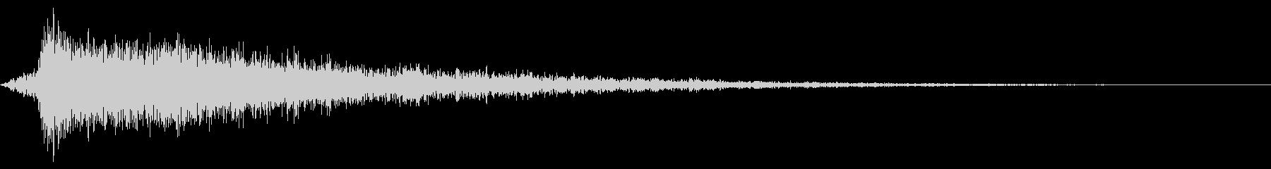 カキーン (スロット確定音、ヒット)の未再生の波形