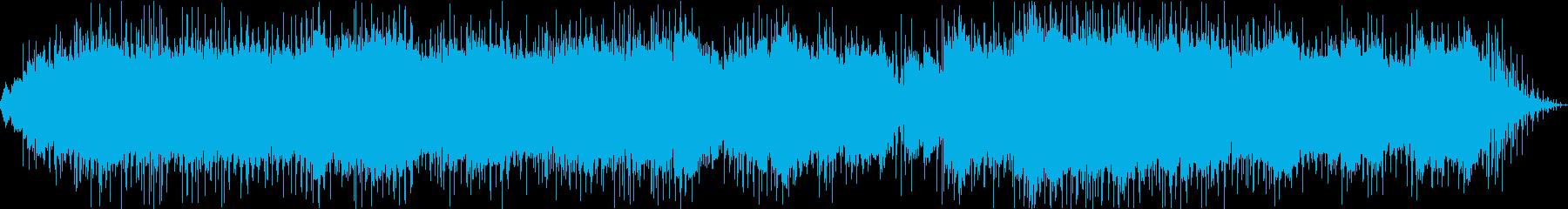 ガムランが響くヒーリングアンビエントの再生済みの波形