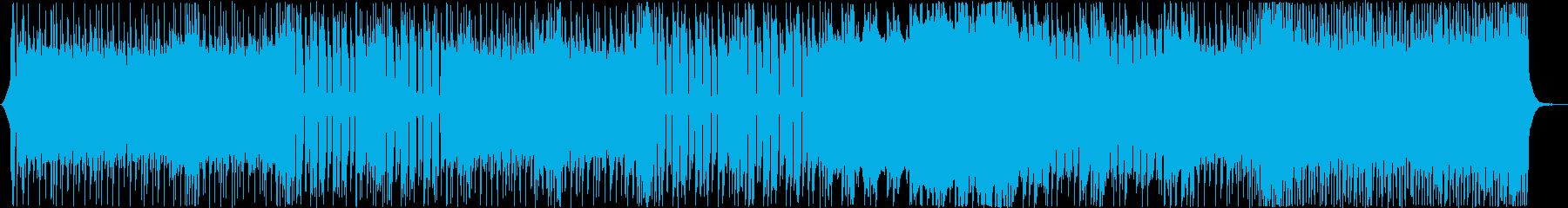 重低音がおしゃれなメロディーの再生済みの波形