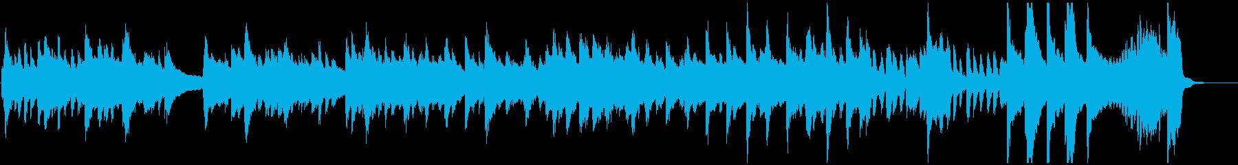 ディズニー風ワルツ_ピアノ編の再生済みの波形
