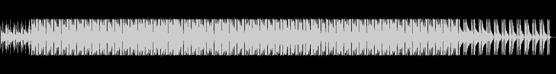 しっとりとしたスムースジャズの未再生の波形