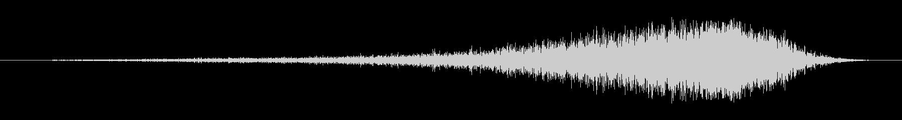 クイックスライスウーシ3の未再生の波形