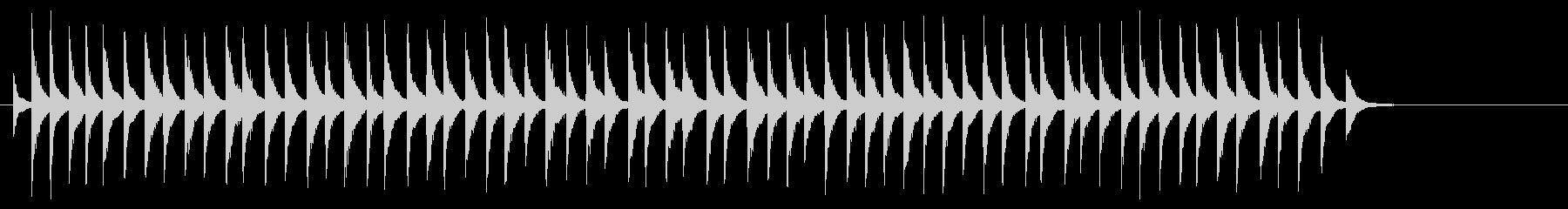 ヘビーメタルカウベル:安定したリン...の未再生の波形