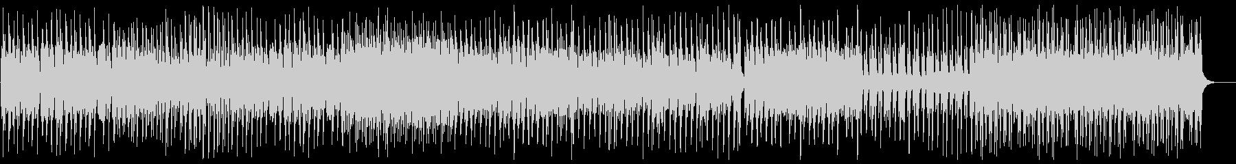 不思議な曲調の変則なピアノの曲の未再生の波形