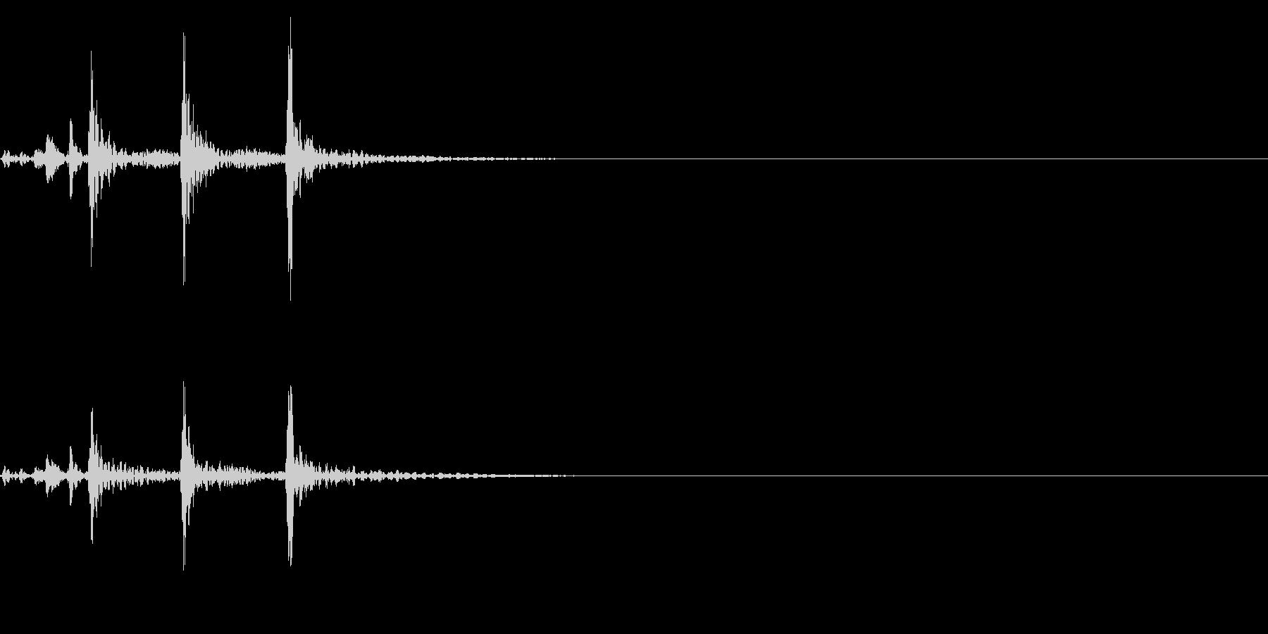 ティンパニ、(手)、ショートバトル...の未再生の波形