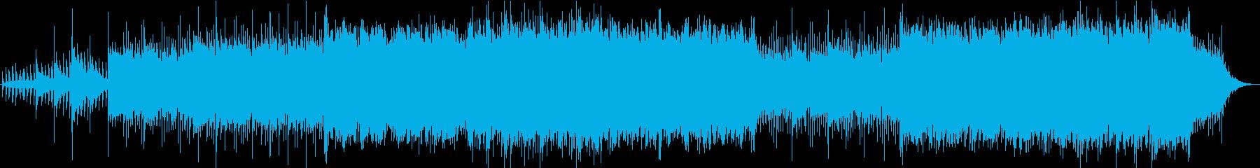 ポップ テクノ モダン ラウンジ ...の再生済みの波形
