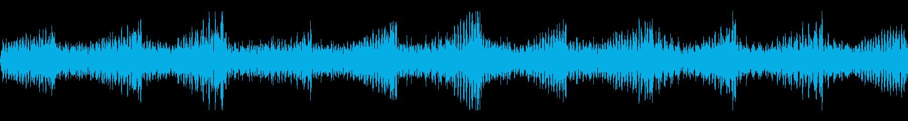 ウィーン(緊急事態発生アラーム音)の再生済みの波形