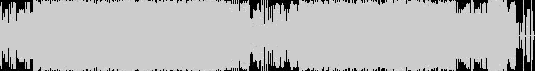 エレクトロハウスの未再生の波形