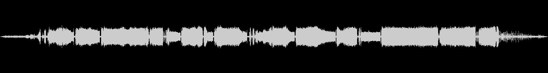 車 サーブ92ドライブエキゾースト01の未再生の波形