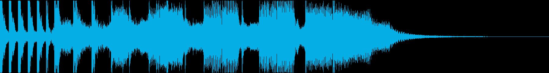 コーナータイトル_70SROCKの再生済みの波形