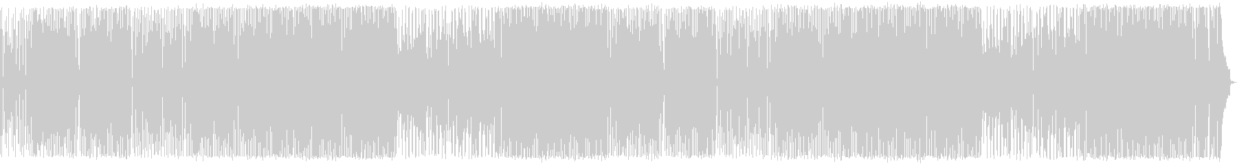 アップテンポで軽快 木琴のノリノリポップの未再生の波形