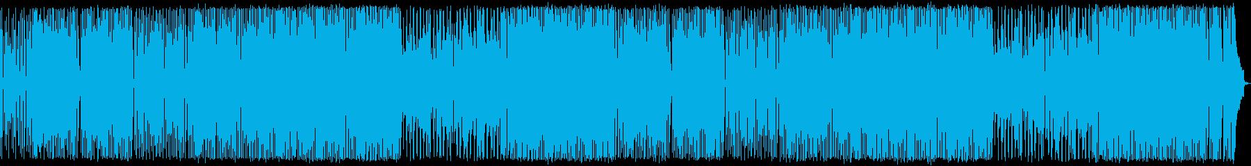 アップテンポで軽快 木琴のノリノリポップの再生済みの波形