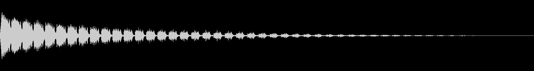 ピロピロピロ(ピコピコ/アラーム/ワープの未再生の波形