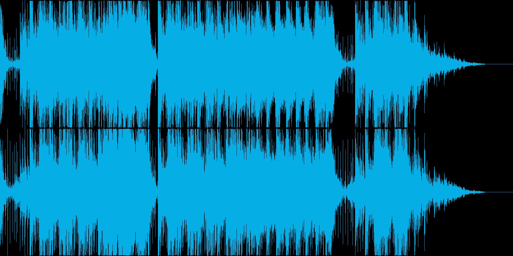 和風 優雅な琴の音の再生済みの波形
