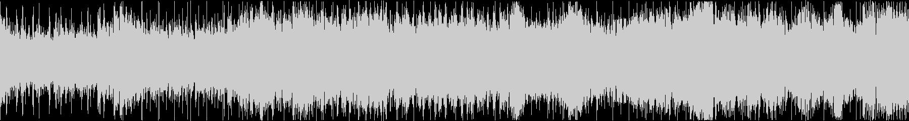 壮大なシネマティック戦闘曲(ループ)の未再生の波形