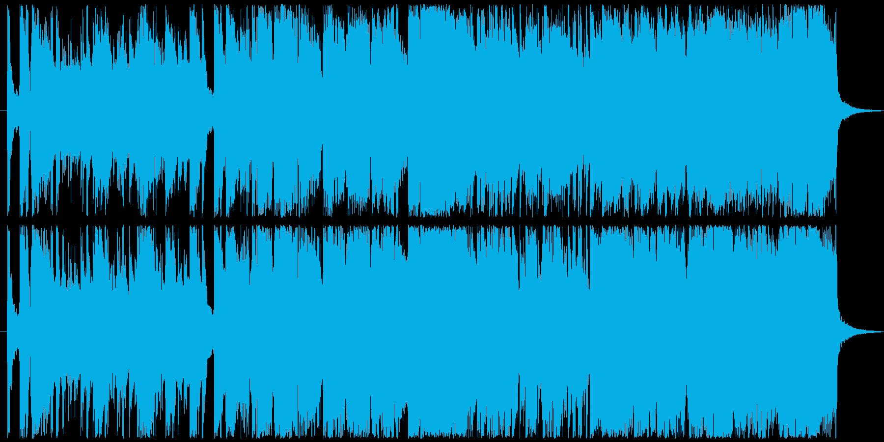 夜のビッグバンドジャズの再生済みの波形