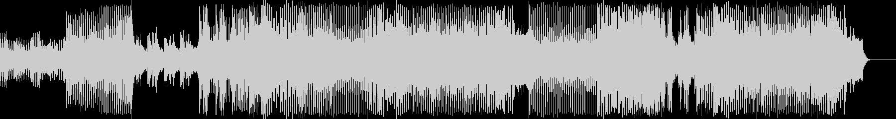 ピアノメインのドラマテックなEDMの未再生の波形