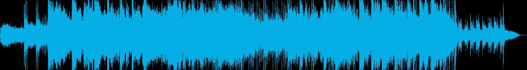 神秘的な和風サウンドの再生済みの波形