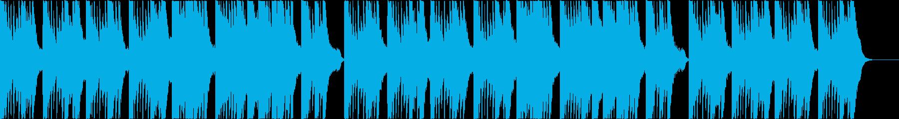 ピアノと琴。澄み切った和の空気。の再生済みの波形