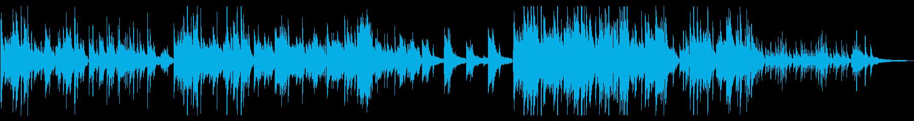 あえてシンプルにピアノソロの再生済みの波形